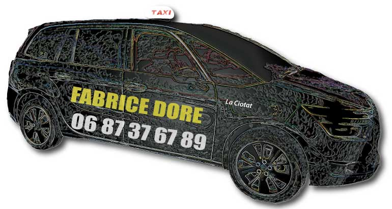 votre taxi à la ciotat fabrice dore